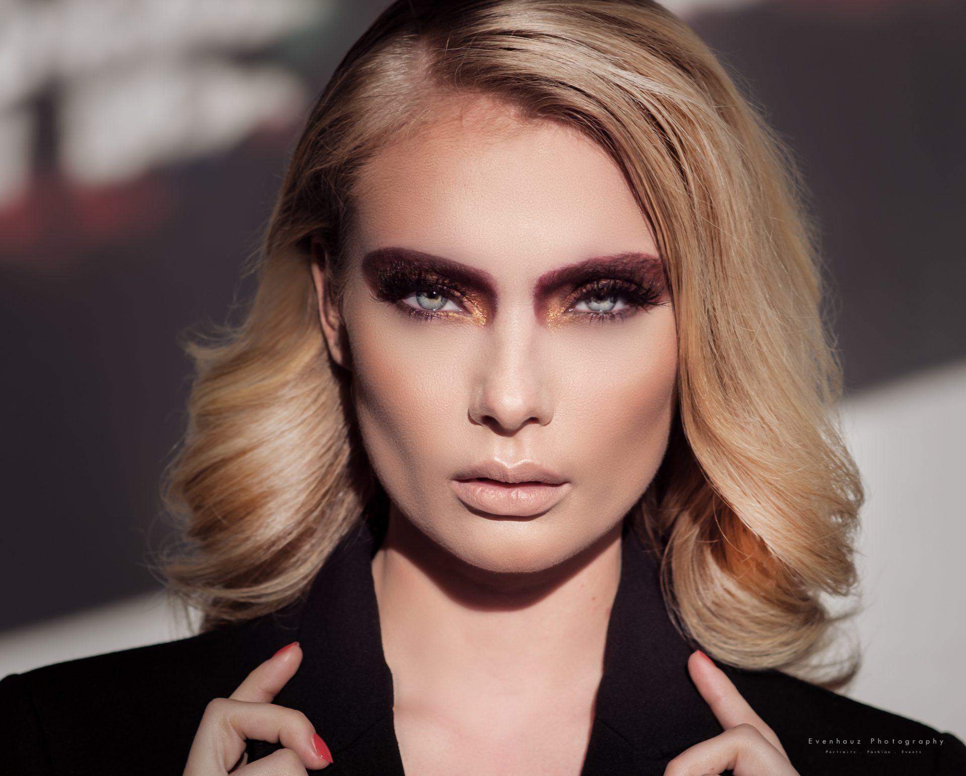 makeup portret